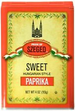 Hungarian Paprika,Sweet and Hot (4 ounce) Szeged !! US SELLER !!