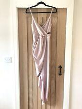 Slinky Lipsy Asymmetric Dress Size 10
