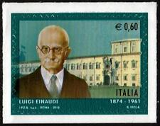 ITALY MNH 2012  Luigi Einaudi, 1874-1961 - Self Adhesive Stamp