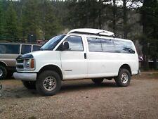 "2/"" Rear Lift Kit 4x2 Van PRO 2003-2018 Chevy Express GMC Savana Full 2/"" Front"