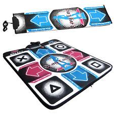 USB Dancing Mat For PC Video Games Gaming DDR Dance Pad Revolution Non Slip YU5F