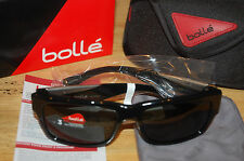 bolle jude 11831 polarized sunglasses tns oleo ar 6 base shiny black mens womens