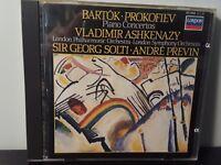 Bartok, Prokofiev: Piano Concertos no 3 / Ashkenazy, Solti (CD, 1984)
