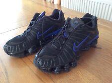 Nike Shox trainors Midnight Blu e Nero Taglia 6.5 usato ottime condizioni