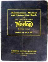NORTON Model 88/99 - Motorcycle Owners Handbook - 1957 - #147/57