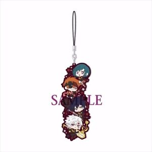 NEW Rare D.Gray-man HALLOW Mascot Rubber Phone Strap 2 Types Official Japan