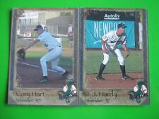J.J. HARDY + CORY HART - 2001 Ogden Raptors set
