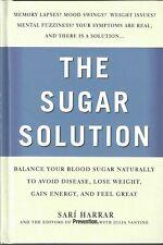 """The Sugar Solution"" by Sari Harrar (Nutrition Hardcover 2004)"
