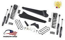 "2013-2018 Dodge Ram 3500 Diesel 4.5"" Zone Radius Arm Suspension Lift kit 4x4 D54"