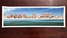 "Jc Richard Jaws ""The Beach"" silkscreen movie poster Mondo silkscreen S/N x/150"