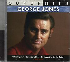 George Jones - Super Hits (2007 CD) Sony/BMG (New & Sealed)