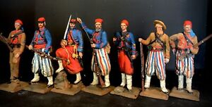 ACW Zouaves - Tin Toy Soldiers - Britains- Manes Marzano- First Legion
