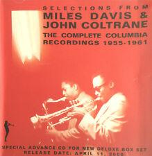 THE COMPLETE COLUMBIA : MILES DAVIS WITH JOHN COLTRANE - [ CD MAXI ]
