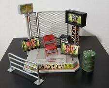 WWF WWE - Trash Talking Stage Play Set by Jakks Pacific 2000