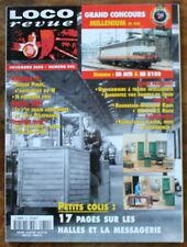 LOCO REVUE n°641 (2000) Halles & Messagerie, BB MTE, Villars, Île Délivrance...