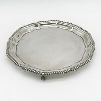 MAPPIN & WEBB SILVER PLATE TRAY FOOTED SERVING PLATTER CENTREPIECE