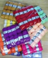 Woolyhippo DK Yarn 100% Acrylic 10x100g Double Knitting Baby Wool Crochet