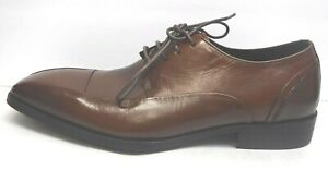 Kenneth Cole New York Size 8 Brown Leather Oxfords New Mens Shoes