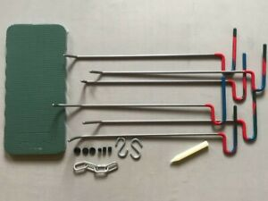 Paintless dent removal tools kit Dent repair set kit pdr tools rods car repair ,