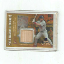 2002 Topps Gold Label ALBERT PUJOLS-2001 ROOKIE OF THE YEAR GAME BAT RELIC RARE