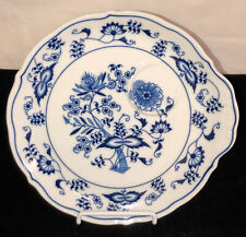 "Japan BLUE DANUBE* 50th ANNIVERSARY* 8"" SNACK PLATE*"