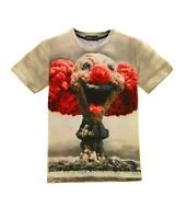 Clown Atom Bomb T-Shirt (all over 3d printed funny ironic t shirt)