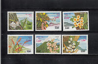 Laos 1983 Flowers Sc 467-472   complete  mint never hinged
