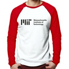 MIT Massachusetts Institute of Technology Long Sleeve Baseball T-Shirt Caltech