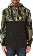 Converse Mixed Media Men's Half Zip Pullover Hoodie Size XS