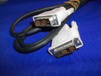 6 FT NEW DVI M/M DIGITAL ANALOG VIDEO CABLE