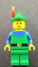 LEGO Castle Forestmen Forestman Blue with Red Plume cas133 Minifigure 1680 1877