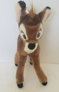 Vintage Disney Disneyland Disneyworld 'Bambi' Plush w/ Bendable Legs