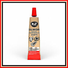 RED High Temperature Silicone +350°C Heat Resistant Glue Adhesive Sealant 42g