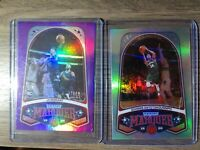 2019 Chronicles Ja Morant #253 RC Marquee Purple/49 & Giannis Antetokounmpo #248