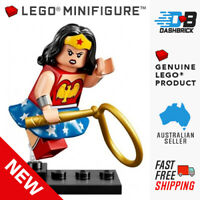 Genuine LEGO® Minifigure - Wonder Woman - DC Comics - Super Heros - BRAND NEW