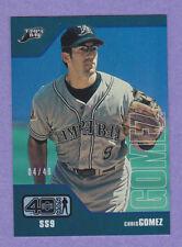 2002 Upper Deck 40-Man Electric Rainbow #101 Chris Gomez 04/40!