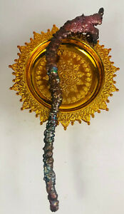 Naga Wand SURIYAN RACHA RED LEKLAI Amulet charms Dragon magic stone Top Talisman