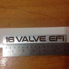 16 Valve EFI Toyota Corolla 93-97 SOHC 1.6L 4A-FE Engine, sticker decal, jdm