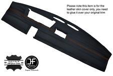 ORANGE STITCHING DASH DASHBOARD LEATHER COVER FITS FIAT 126 CLASSIC