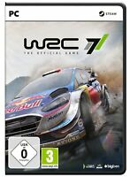 WRC 7 the official game - Jeu PC version physique - Neuf - FR
