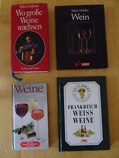 Bücherpaket Weine 6 Stück Sammlung Konvolut