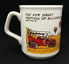 Vintage The New Jersey Festival Of Ballooning Solberg Airport Coffee Mug Cup 85'