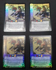 UFS Foil Cards x4 - Soul Calibur - playset of Veteran of 1000 Battles