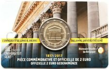 Belgium 2 euro 2017 University of Ghent  coincard (#3312)