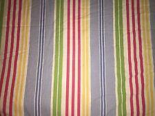 2 RALPH LAUREN 88x71 Twin Comforters Pink Blue Green Yellow Rainbow Striped