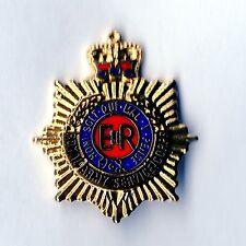 Enamel Lapel Badge Royal Army Service Corps Queens Crown