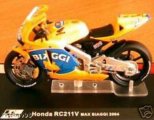 MOTO GP BIKE HONDA RC211V MAX BIAGGI 2004 1/24 RACING