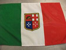 BANDIERA MERCANTILE ITALIANA IN POLIESTERE PESANTE 30X45 CM