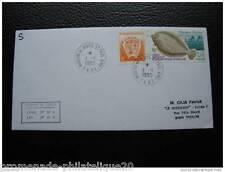 TAAF lettre 1/1/95 - timbres Yvert et Tellier n°194 et 196 (A)