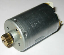 Mabuchi RS-385 Motor w/ Gear - 12V - HP Printer Paper Advance Motor - 6150 RPM